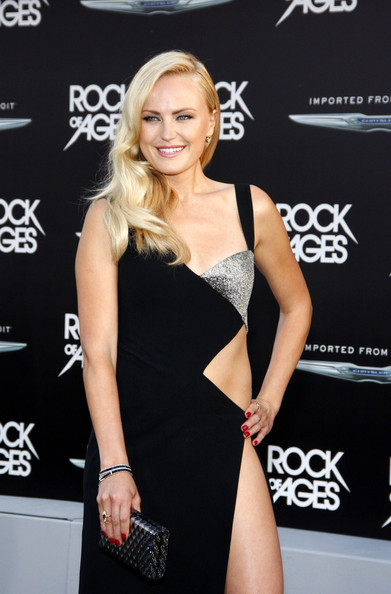 Malin Akerman - Celebs at the 'Rock of Ages' Premiere