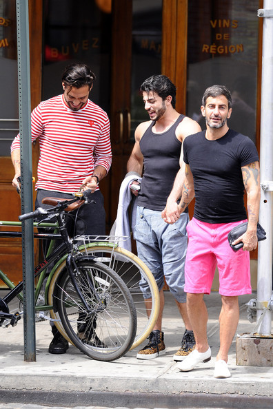 Marc Jacobs and Harry Louis Grab Lunch in NYC
