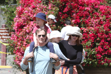 Eden Cross Marcia Cross and Family at Temescal Park