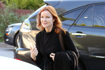 Eden Cross Marcia Cross Takes Her Daughters to a Halloween Party