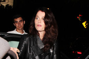 Robin Tunney seen leaving Chateau  Marmont after hillfiger party in California.