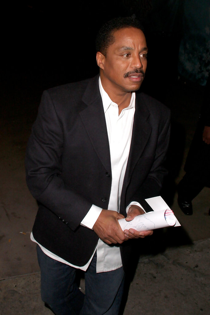 marlon jackson in marlon jackson in hollywood zimbio