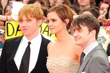 """Daniel Radcliffe Emma Watson Premiere of """"Harry Potter and the Deathly Hallows - Part 2"""""""