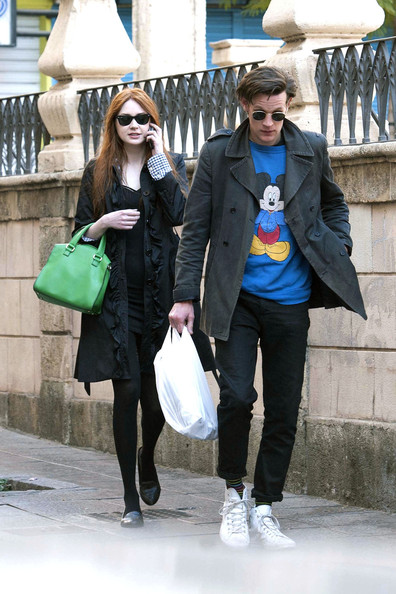 Matt Smith and Karen Gillan Out Together in Spain - 1 of 16