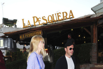Matthew Vaughn Claudia Schiffer Shops with Her Family