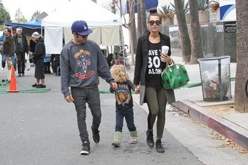 Meagan Camper Pete Wentz and Meagan Camper in LA