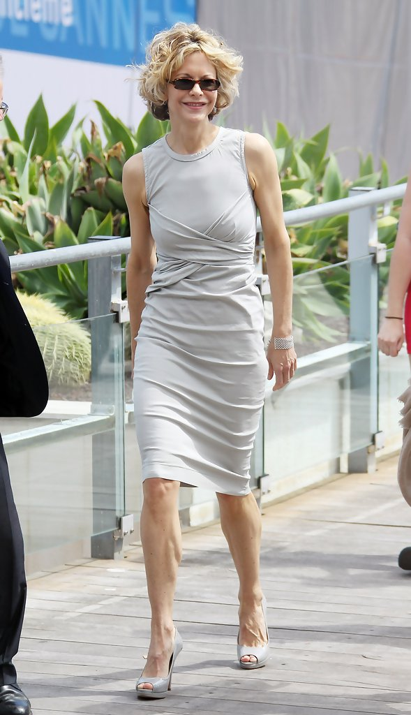 meg ryan in the countdown to zero photocall in cannes. Black Bedroom Furniture Sets. Home Design Ideas