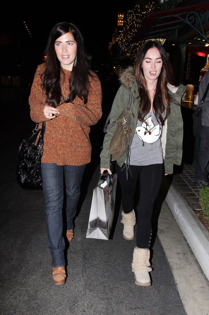 megan fox shops in la zimbio