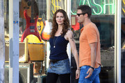 "Geoff Stults and Saffron Burrows film scenes for ""The Locator"" in South Beach. The show is a spinoff of the hit Fox show ""Bones""."