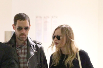 Michael Polish Kate Bosworth and Michael Polish Arrive in LA
