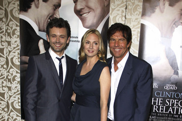 "Dennis Quaid Michael Sheen Premiere of ""The Special Relationship"""