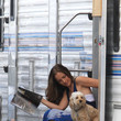 Chewy Stars on Set in Miami