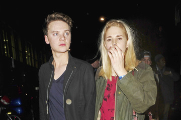 Mystery Girl Conor Maynard The Wanted singer Max George seen leaving Conor Maynard's concert after party in the early hours of the morning held at the Mahiki Nightclub in London
