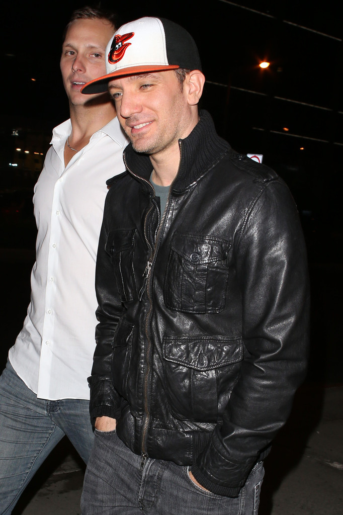 jc chasez photos photos joey fatone and jc chasez go