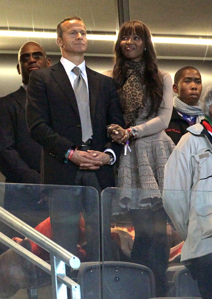 Naomi Campbell and boyfriend