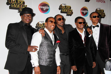 New Edition Daley on the red carpet for the 2012 Soul Train Awards in Las Vegas
