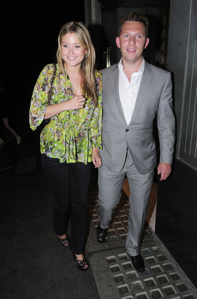 Holly Valance And Nick Candy Leave The Ivy