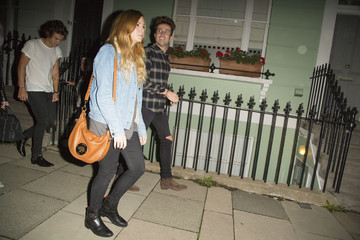 Nick Grimshaw Harry Styles Harry Styles Out with Pals in London