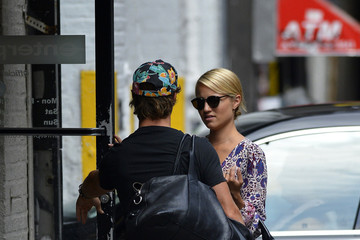 Nick Mathers Dianna Agron and Nick Mathers in NYC