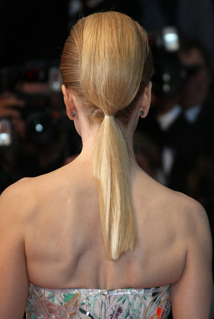 Love it or Loathe it: Nicole Kidman's Ponytail at Cannes (Vote Now!)