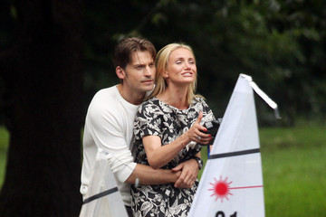 Nikolaj Coster-Waldau Cameron Diaz and Nikolaj Coster-Waldau Race Sailboats
