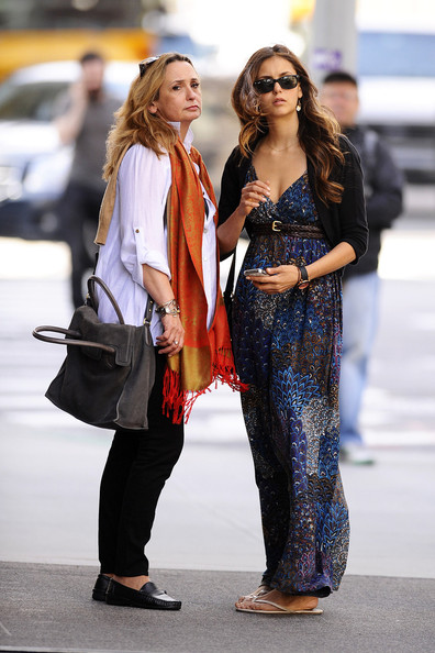 Nina Dobrev - Nina Dobrev Hangs Out with Her Mom