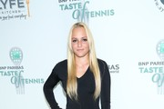 Donna Bekic attends the 14th Annual BNP Paribas Taste Of Tennis at W New York Hotel in New York City.
