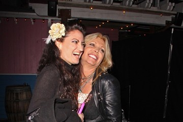 Pamela Bach Celebs at the Aerosmith Concert After Party