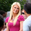 Paris Hilton at The Grove
