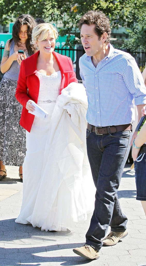 Paul Rudd and Amy Poehler Film 'They Came Together' 21 of ...