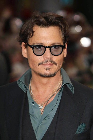 "Johnny Depp attends Disney's film premiere of ""Pirates of the Caribbean: On Stranger Tides"" in London."