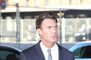 Jeff Lewis leaving the Bravo Upfront 2012, held at Center 548, in New York City.