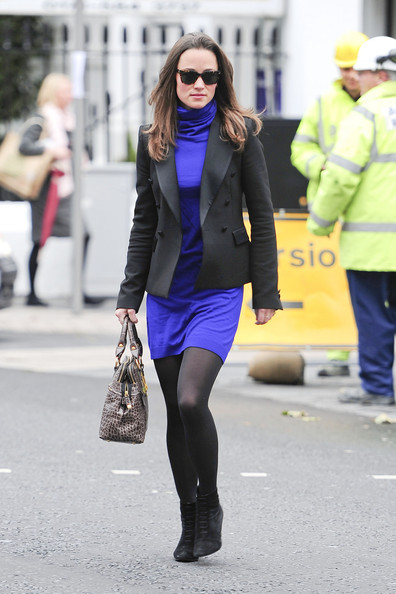 Pippa Middleton's shiny legs