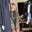 Planet Blue Ashley Tisdale Shops With Her Mom