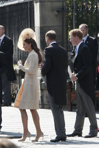 Prince Harry and Prince William Wedding of Zara Phillips to Mike Tindall