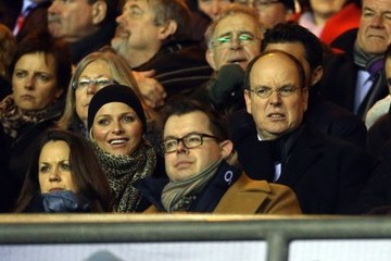 Prince Albert Prince Albert of Monaco Watches a Rugby Match