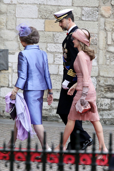 Arrivals at the Royal Wedding 2 In This Photo Princess Letizia