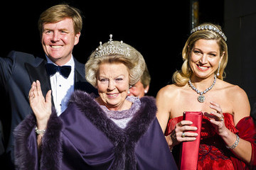 Princess Maxima Guests Arrive for a Dinner With the Royal Family