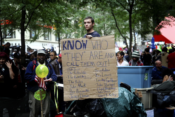 'Occupy Wall Street' in NYC