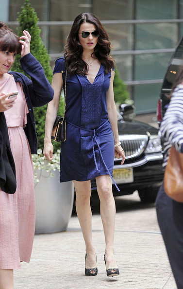 "Rachel Weisz continues her busy schedule in New York City with a visit to the ""Charlie Rose Show"". The new Mrs Daniel Craig is currently promoting her latest movie, the drama ""The Whistleblower""."