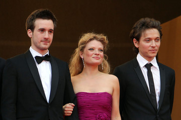 Melanie Thierry Gregoire Leprince-Ringuet Raphael Haroche and Melanie Thierry at the Screening for 'The Princess of Montpensier'