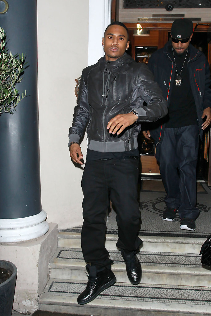 Trey Songz Photos Trey Songz And Chipmunk Leave 5