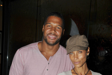 "Michael Strahan Nicole Murphy Stars at the Debut of ""In the Flow"" in Beverly Hills 2"