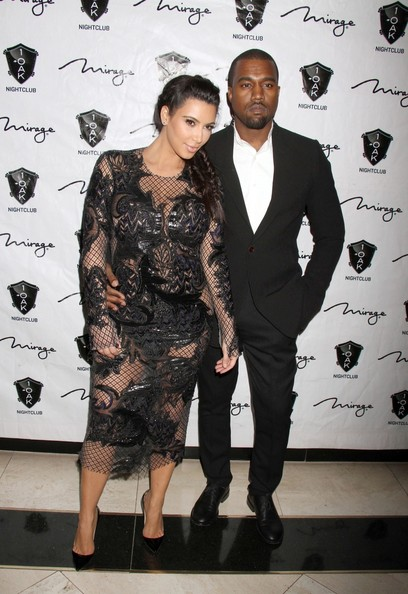 Kim Kardashian Hosts New Year's Eve in Las Vegas