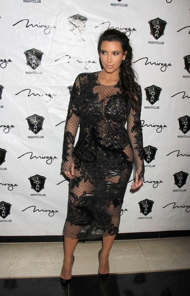 Kim+Kardashian in Kim Kardashian Hosts New Year's Eve in Las Vegas
