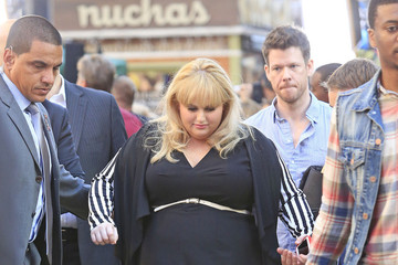 Rebel Wilson Rebel Wison Walks to the 'GMA' Set