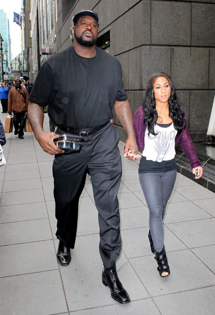 shaquille o neal and nicole alexander photos photos