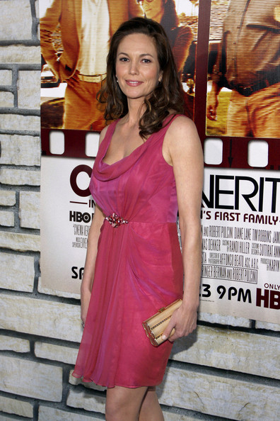 "Monday April 11, Diane Lane poses up at the Los Angeles premiere of ""Cinema Verite"", held at the Paramount Pictures Studios in Los Angeles."