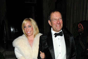 Richard Desmond Guests Leave the UK Fashion and Textile Awards