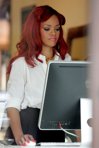 Rihanna at East Side Ink 2